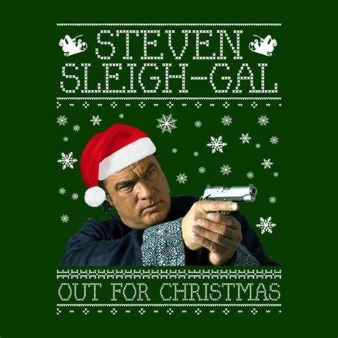 abba in christmas jumpers steven sleigh gal seagal knit fan
