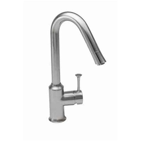american standard pekoe kitchen faucet shop american standard pekoe stainless steel 1 handle high arc kitchen faucet at lowes com