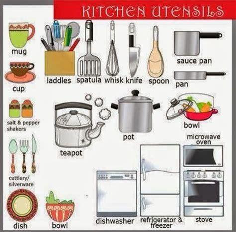 4 frogs fiche de vocabulaire n 176 8 les ustensiles de cuisine englih kitchen