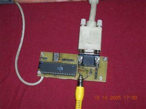 simple vgavideo adapter  atmega avr