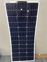 優惠免運 出口品18V100W 100W太陽能板 高效能軟板單晶太陽能板 輕薄型單晶矽太陽能板   露天拍賣