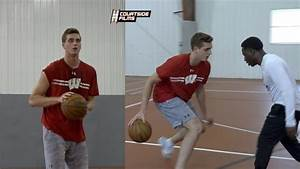 Wisconsin Forward Nate Reuvers Workout Tape With Hoops ...