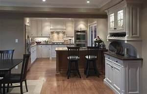 Kitchen design i shape india for small space layout white for Open kitchen layouts