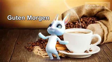 guten morgen schoenen tag tasse kaffee von der lieben