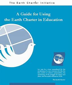 Guide For Using The Earth Charter In Education
