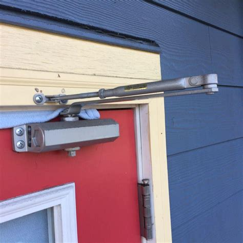 commercial property   door closer