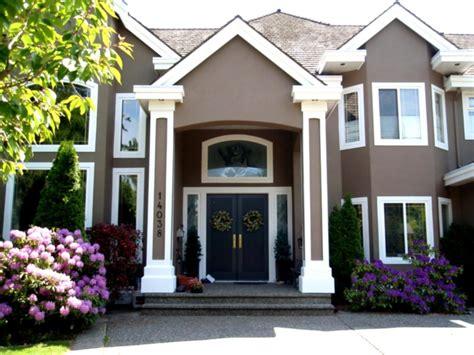 Home Design Exteriors Popular Exterior Green House Paint
