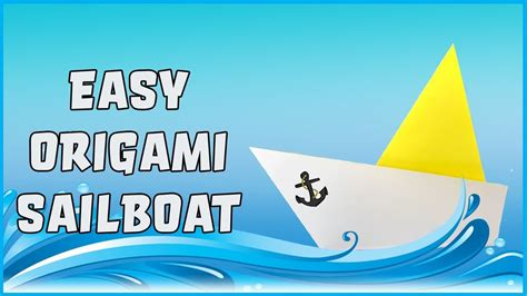 How To Make A Paper Boat Easy Youtube by How To Make A Paper Boat Origami Easy How To Step By