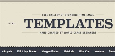 completly  html email templates inbox junky