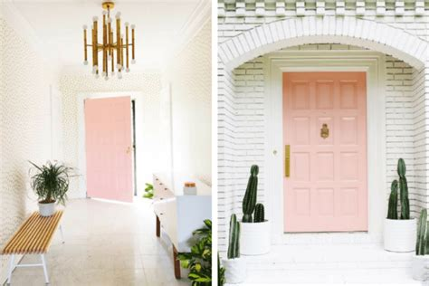 8 Pink Doors That Will Inspire You To Paint Modern Bathroom Tile Ideas Photos Effect Laminate Flooring For Bathrooms Lowes Restoration Mosaic Tiling Patterns Small Guest Decorating Uk Tiles