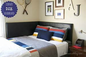awesome corner headboard photo decoration inspiration With make your own queen bed headboard