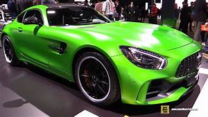 2017 Mercedes AMG GTR Coupe Exterior And Interior