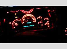 2005 Silverado 1500 red led conv & gauges repair YouTube