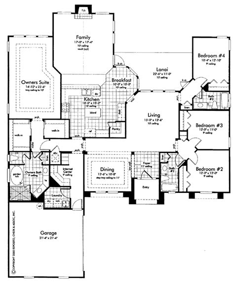 2 master bedroom floor plans house plans with 2 master suites 5 bedroom house plans