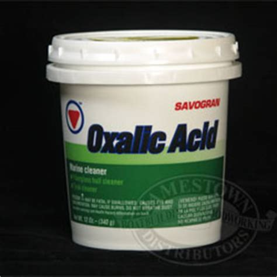 oxalic acid marine cleaner