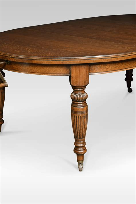 antique oval dining tables for oak oval extending dining table antiques atlas 9031