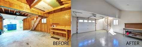Old Kitchen Renovation Ideas - 85 garage renovation before and after after ready for entertaining before and photos garage