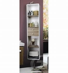 meuble salle de bain rangement serviette maison design With salle de bain design avec colonne de salle de bain castorama