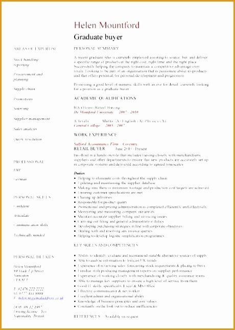 Graduate Cv Template by 9 Manufacturing Engineer Resume Free Sles Exles