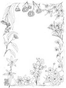 A4 Size Paper Sheet Border Design
