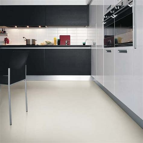 Latte White Vinyl Flooring Tile   £39.95 per square metre
