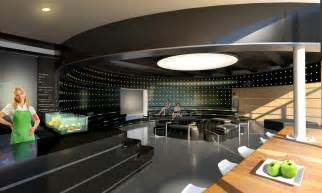 design lounge modern futuristic cafe lounge design idea plushemisphere