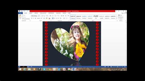 greeting card  microsoft word  youtube