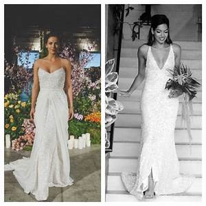Before and after for my wedding dress carol used the for Used wedding dresses san diego