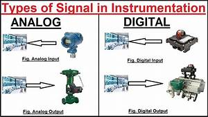 Types Of Signals Used In Instrumentation