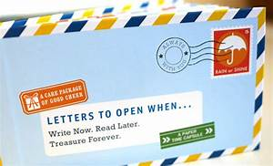 share your open when ideas and win With letters to open when book