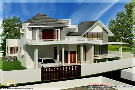 house designs contemporary mix modern home designs kerala home