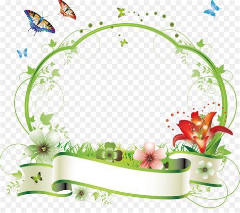 Flower Picture frame Floral design Clip art - Summer fresh