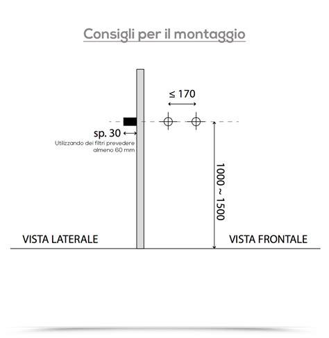 Pannello Doccia Termostatico by Pannello Doccia Termostatico Swing In Acciaio Inox