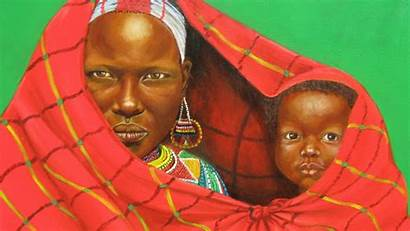 African Painting Wallpapers Child Background Backgrounds Cool