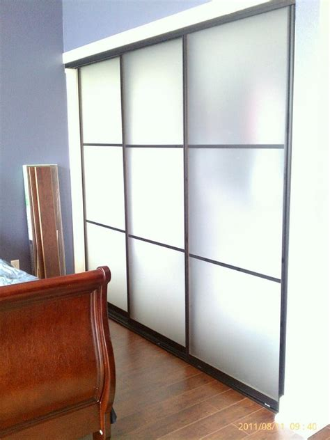 On Acid In Closet by Acid Etched Glass Wardrobe Sliding Doors Los Angeles