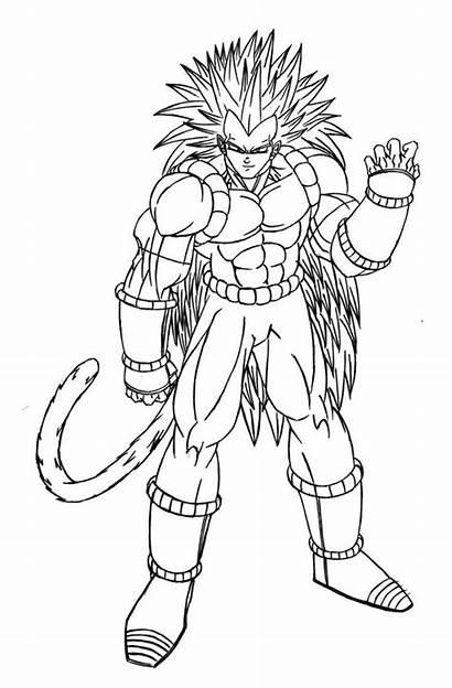 Dragon Ball Coloring Pages Goku Kai Dragonball