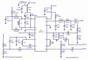 Ic Based Tv Transmitter Circuit