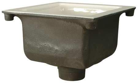 zurn cast iron floor sink zurn floor sink 3 in pipe 12 x 12 x 6 in h fd2375 nh3