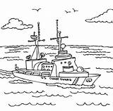 Coloring Guard Coast Pages Printable Military Ship National Army Check Gaurd Ships Sheets Books Boats Activity Fearless Getcolorings Printables Drawings sketch template