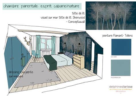 amenagement chambre parentale aménagement d 39 une chambre parentale esprit cabane nature
