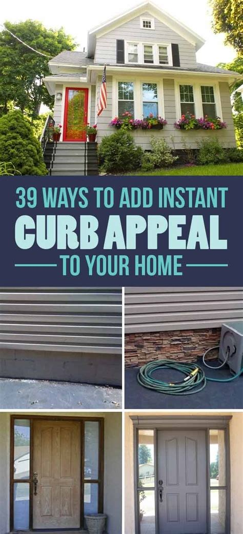 budget curb appeal ideas   totally change  home