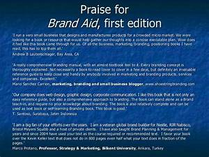 Brand Aid  A Quick Reference Guide To Solving Your
