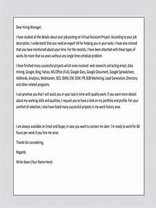 cover letter sample for va virtual assistant upwork help With sample cover letter for virtual assistant