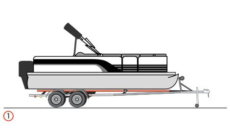 Boat Trailer Jack Placement how to raise a boat