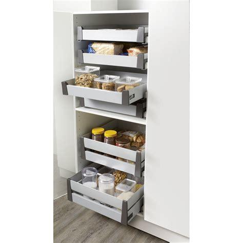 tiroir coulissant pour cuisine tiroir 224 l anglaise hauteur pour meuble l 40 cm