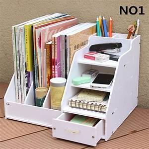 Diy, Office, School, Supplies, Accessories, Stationery, Desk, Organizer, File, Tray, Magazine, Makeup