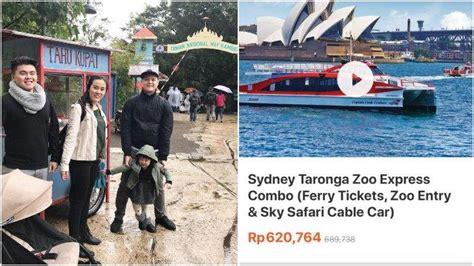 viral objek wisata taronga zoo  australia mirip suasana