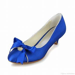 royal blue wedding dress shoes 2016 bridal low heel heel With blue dress shoes for wedding