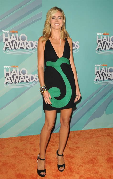 Heidi Klum – TeenNick HALO Awards at Hollywood Palladium ...