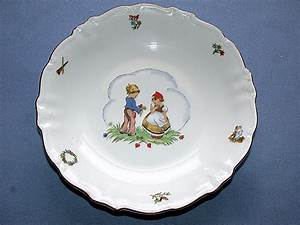 Bavaria Germany Child's Porcelain China Bowl & Cup